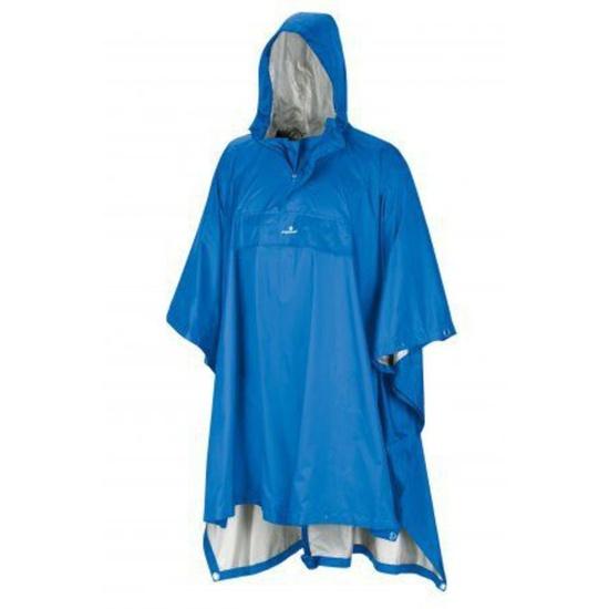 Poncho Ferrino Todomodo S/M 78055 Die Farbe: blue