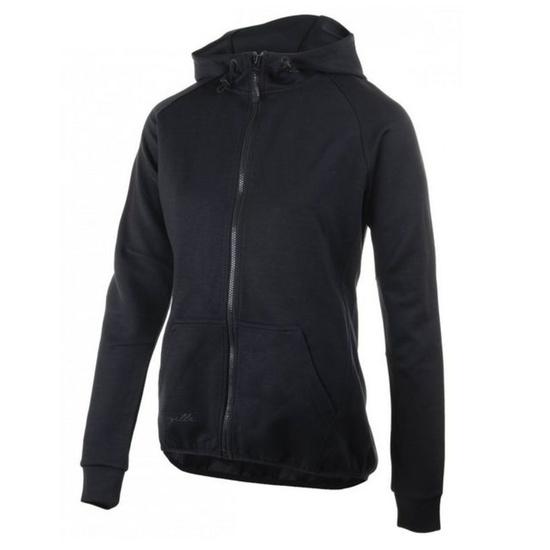 All-in Ladies funktionell Sweatshirt Rogelli TRAINING mit Kapuze, black 050.610.