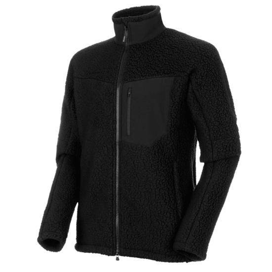 Herren Sweatshirt Mammut innominata Pro ML Jacket Men black 0001