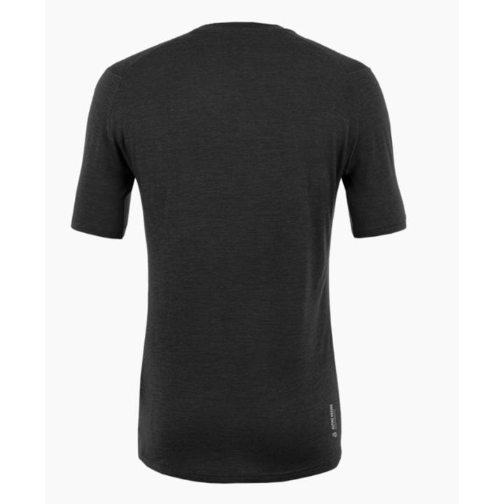 Herren T-Shirt Salewa Rein logo merino reaktionsschnell verdunkeln 28264-0910