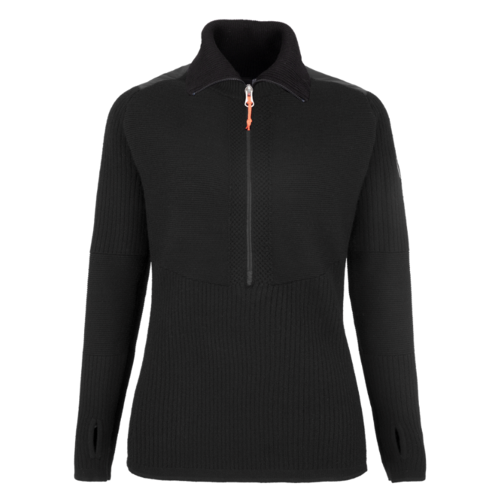 Damen-Sweatshirt Salewa Sella Merino verdunkeln 28272-0910