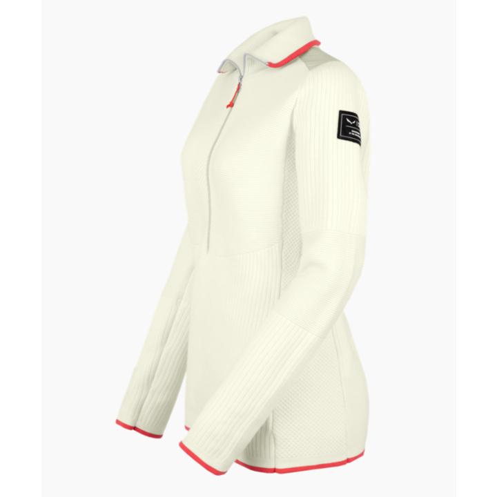 Damen-Sweatshirt Salewa Sella Merino Haferflocken 28272-7260