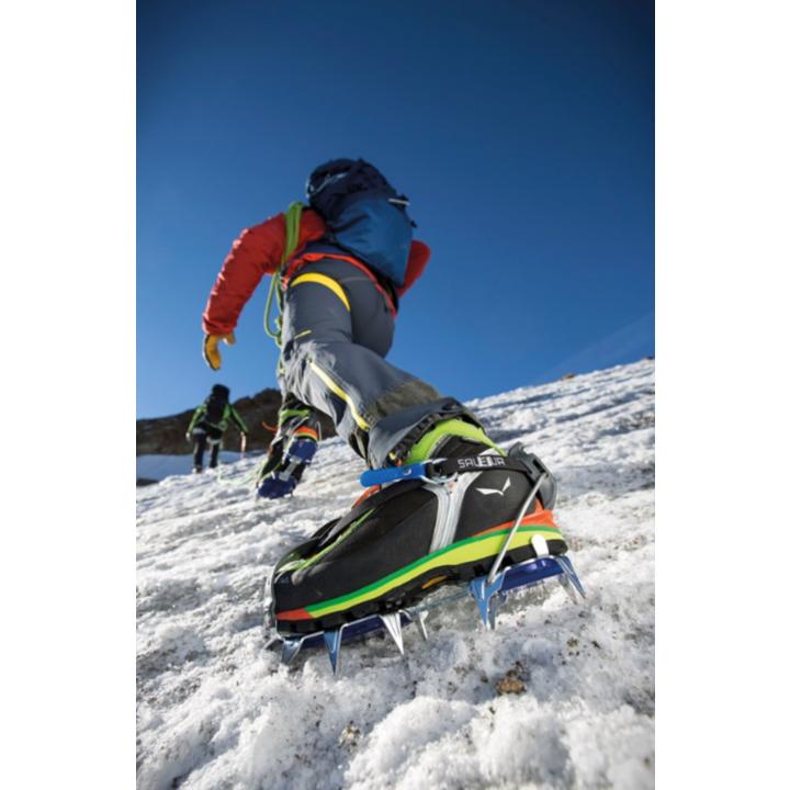 Steigeisen Salewa Alpinist Alu Kombi stahl blau 812-0999