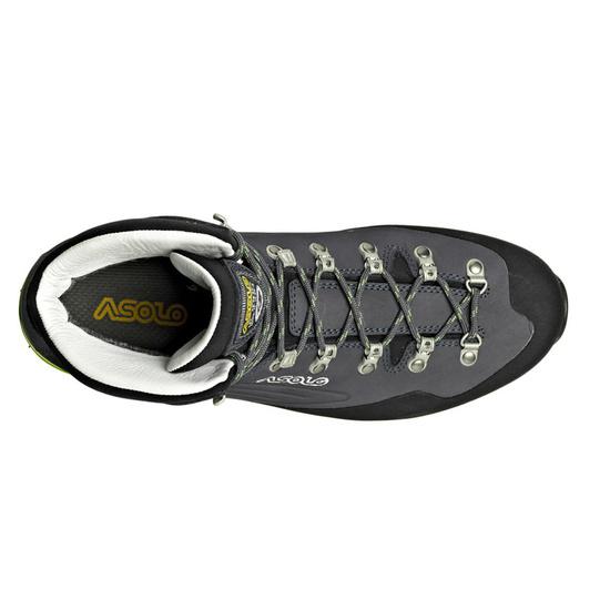 Schuhe Asolo Superior GV MW navy blau/grün lime/A673
