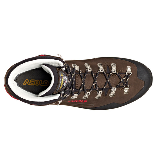 Schuhe Asolo Superior GV MM Dark brown/red/A904
