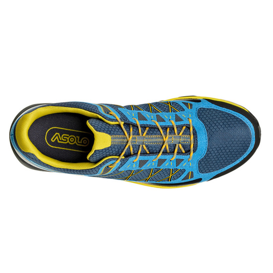 Schuhe Asolo Grid GV MM indisch teal/yellow/A898
