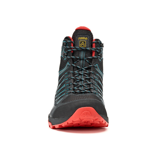 Schuhe Asolo Grid Mid GV MM black/red/A392