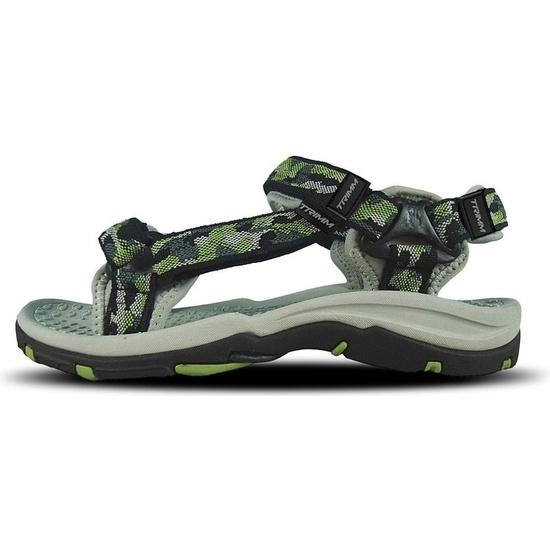 Damen Sandalen Trimm INDY II Die Farbe: green