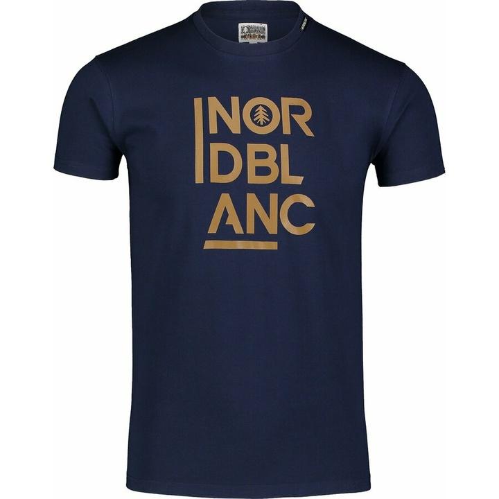 Hemd aus Baumwolle für Männer Nordblanc OBEDIENT Blau NBSMT7258_TEM