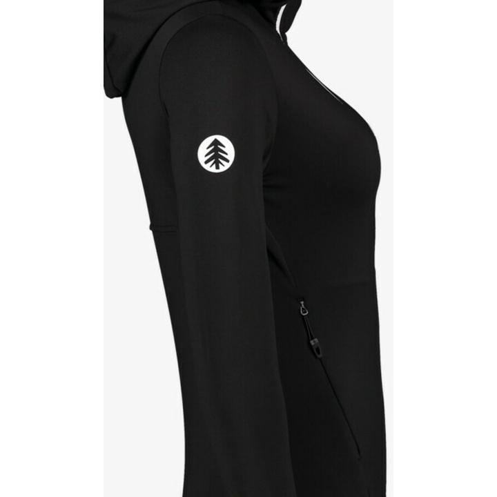 Damen-Powerfleece-Hoodie Nordblanc Keenisy NBSFL7382_CRN