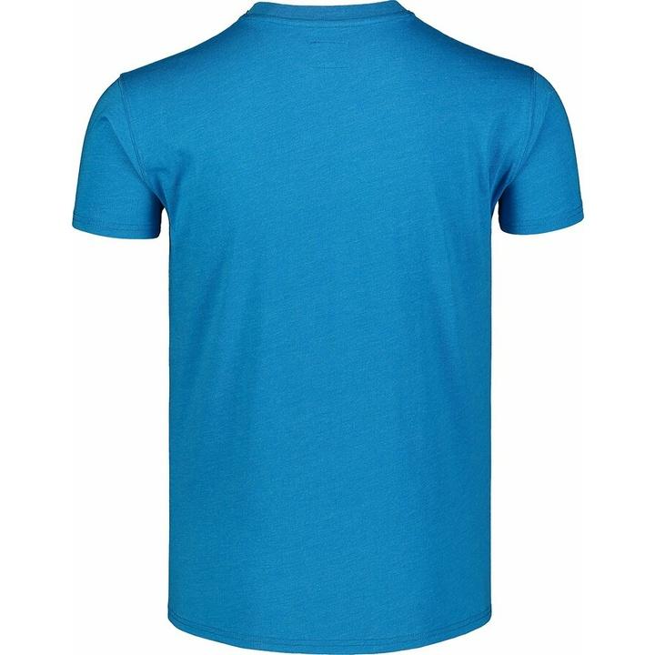 Hemd aus Baumwolle für Männer Nordblanc WAL LON Blau NBSMT7391_AZR