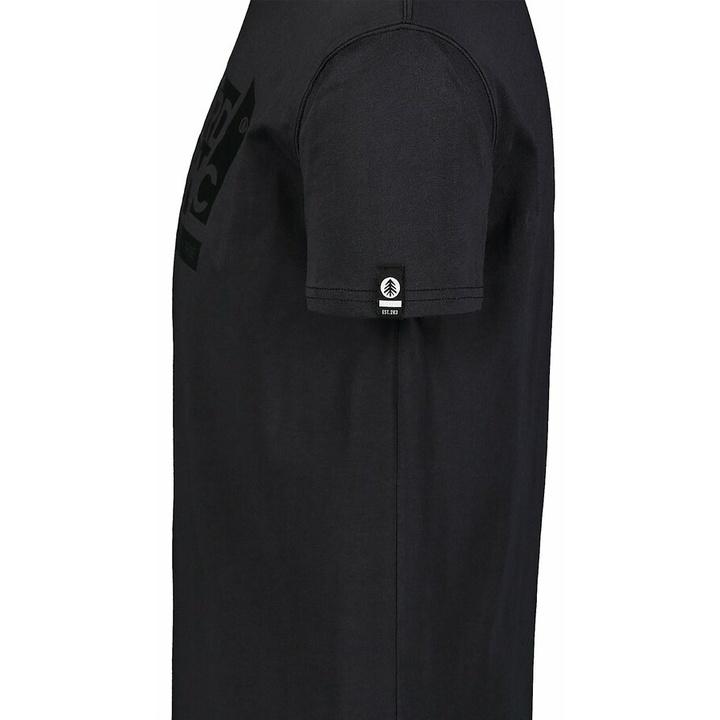 Hemd aus Baumwolle für Männer Nordblanc WAL LON schwarz NBSMT7391_CRN