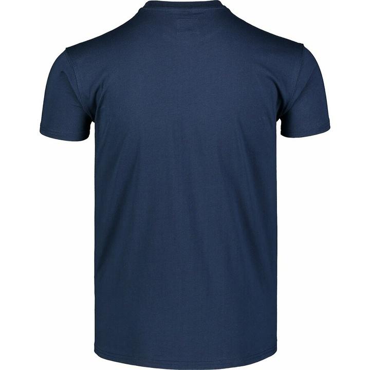 Hemd aus Baumwolle für Männer Nordblanc WAL LON Blau NBSMT7391_MOB