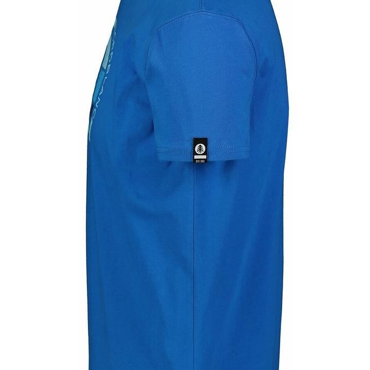 Hemd aus Baumwolle für Männer Nordblanc TRICOLOR Blau NBSMT7397_INM