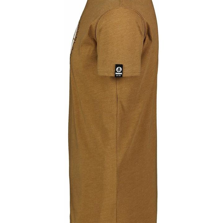 Hemd aus Baumwolle für Männer Nordblanc TRICOLOR braun NBSMT7397_PUH