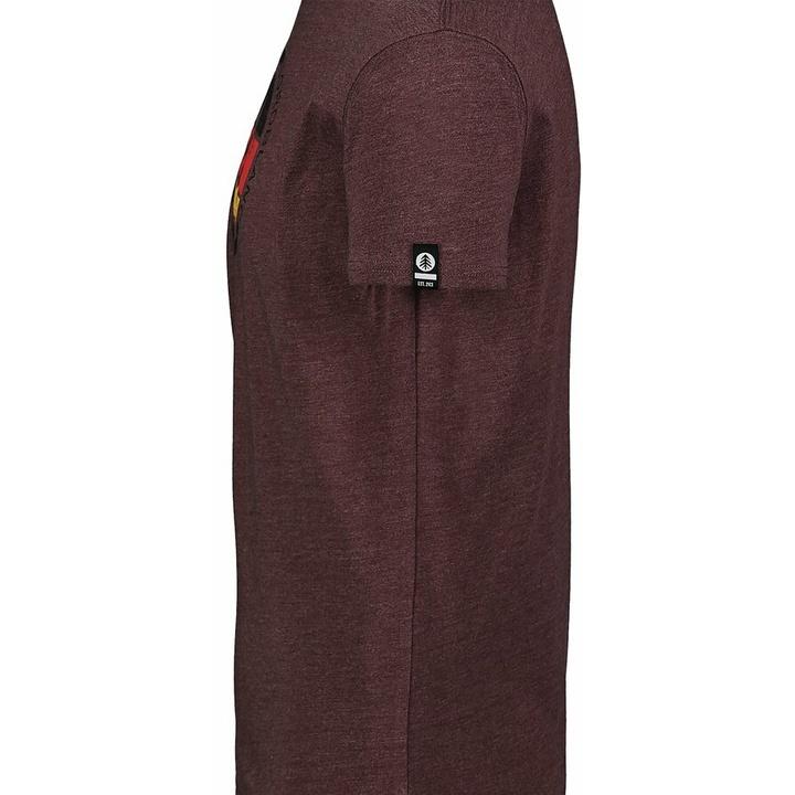 Hemd aus Baumwolle für Männer Nordblanc TRICOLOR braun NBSMT7397_RUH
