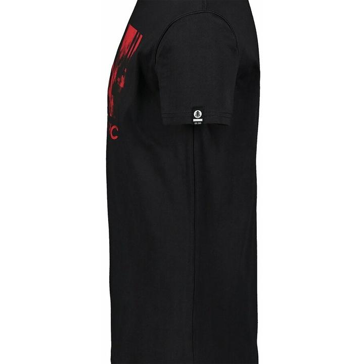 Hemd aus Baumwolle für Männer Nordblanc TREETOP schwarz NBSMT7399_CRN