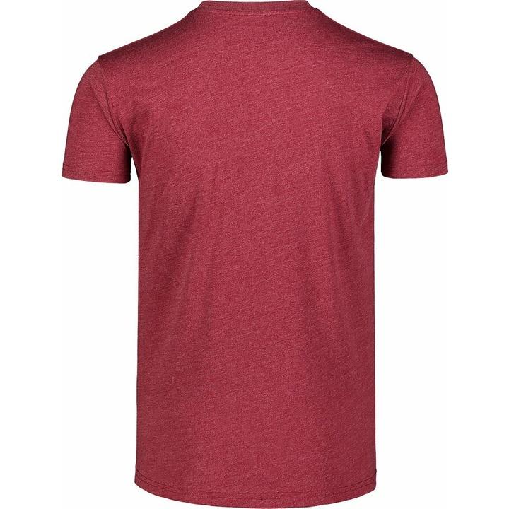 Hemd aus Baumwolle für Männer Nordblanc TREETOP wein NBSMT7399_HCA