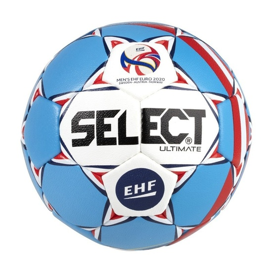 Handball Ball Select HB Ultimate EURO 2020 weiß blue