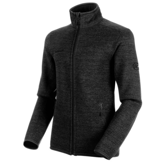 Herren Sweatshirt Mammut Arctic ML Jacket Men phantom black Melange 00162