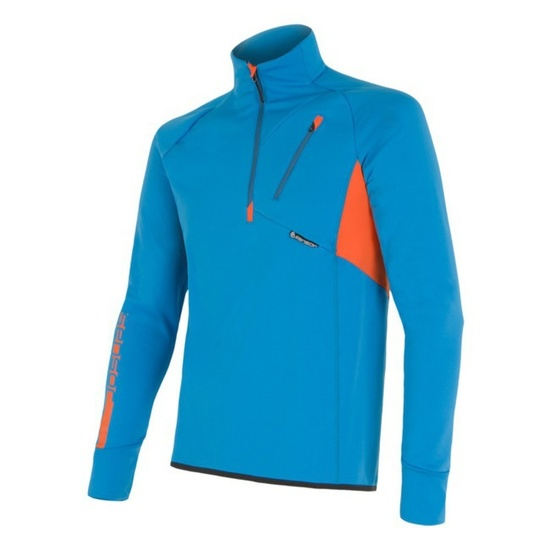 Herren Sweatshirt Sensor Tecnostretch blue 15200043