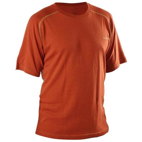 T-Shirt AFARS Merino Kurz- Ärmeln Orange