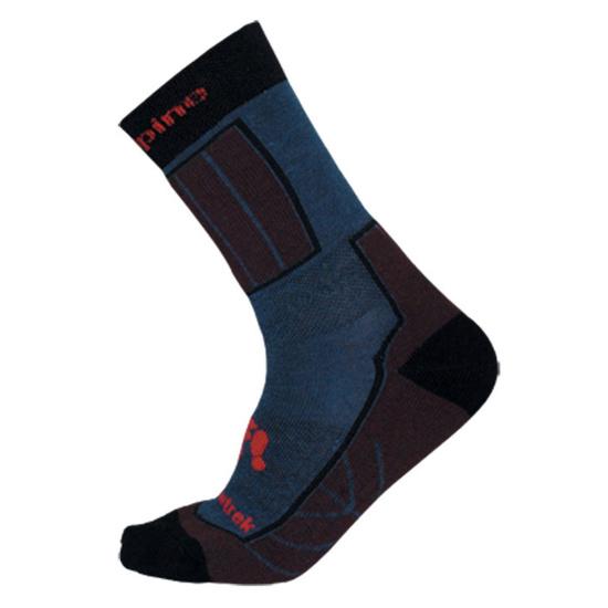 Socken Direct Alpine Bormio Die Farbe: blue