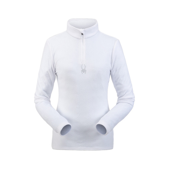 Rollkragen Spyder Women's Shimmer Bug Velour Fleece T-Neck 194091-100