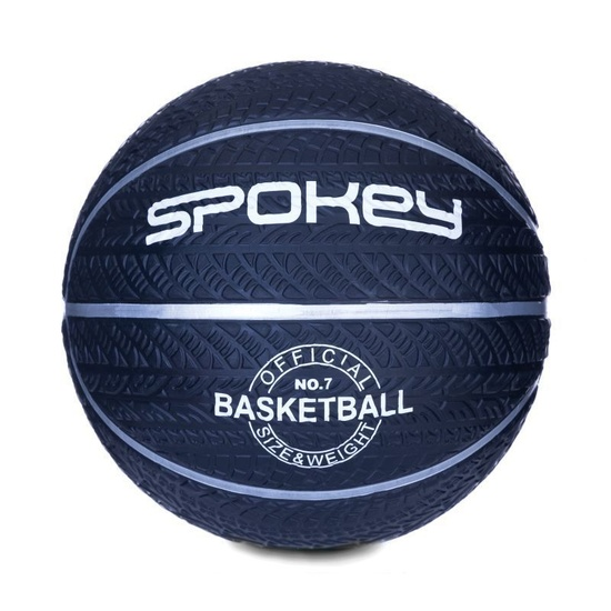 Basketball Ball Spokey MAGIC blau mit weiß, Größe 7