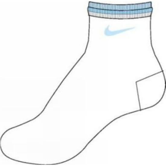 Socken Nike Femme SX0962-143