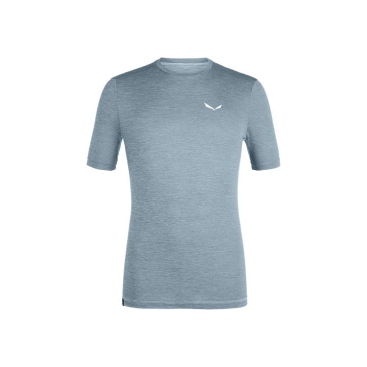 T-shirt Salewa PUEZ MELANGE HYBRID DRY M S/S TEE 27877-0316