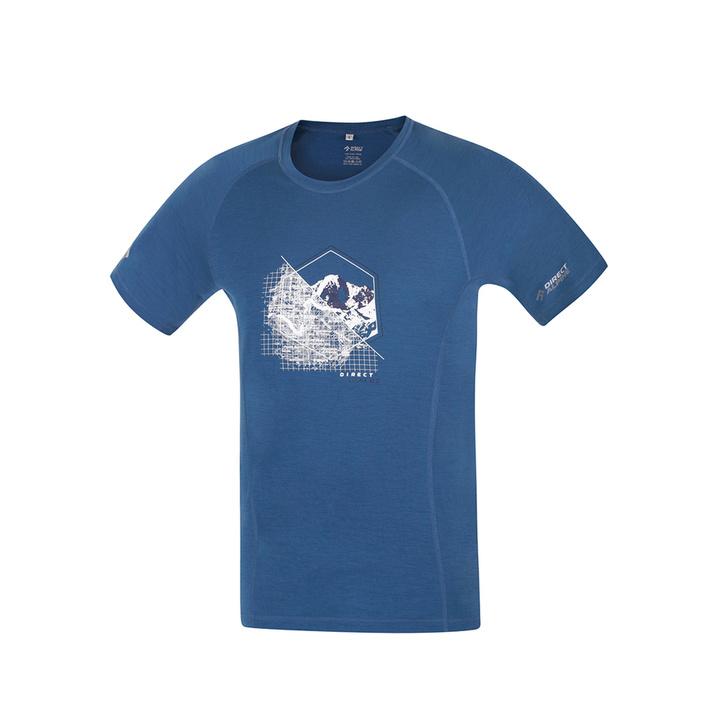 T-Shirt funktionell Direct Alpine pelzig Petrol (stelle)