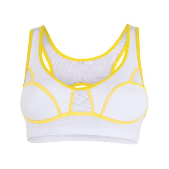 Damen BH Sensor Lissa weiß/gelb 1065532-61
