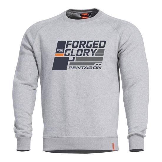 Sweatshirt PENTAGON® Hawk Geschmiedet for Glory grey