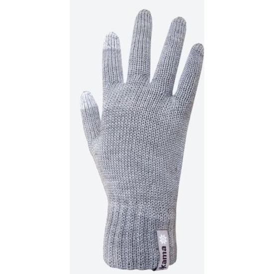 Gestrickte Merino Handschuhe Kama R301 109