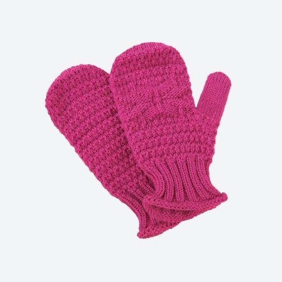 Kinder gestrickte Merino Handschuhe Kama RB206 114