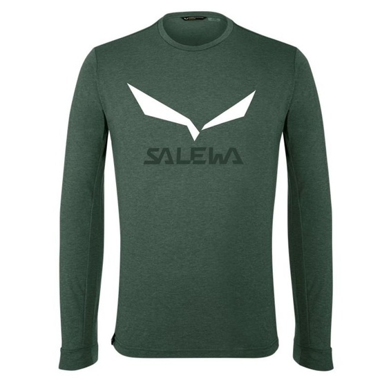 T-Shirt Salewa SOLIDLOGO DRY M L/S TEE 27340-0698
