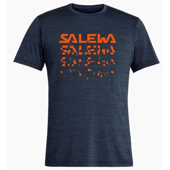 T-Shirt Salewa Puez HYBRID 2 DRY M S/S TEE 27397-3986