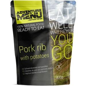 Adventure Menu Schweinefleisch rippe mit kartoffeln, Adventure Menu