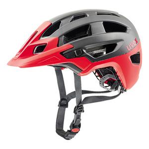 Helm Uvex FINALE Dark Silber-Rot Mat, Uvex