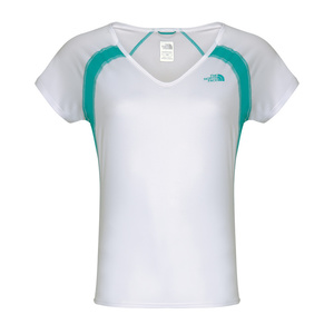T-Shirt The North Face W S/S REFLEX V-NECK ARCWK2K, The North Face