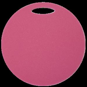 Schemel Yate rund 1 schicht Durchmesser 350 mm Pink, Yate