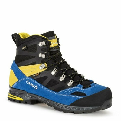 Herrenschuhe AKU Trekker Pro GTX schwarz / blau / gelb