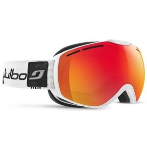 Ski Brille Julbo Ison XCL CAT 3 weiß / grau / schwarz, Julbo