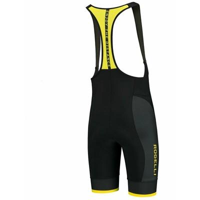 Zyklokraten Rogelli FUSE mit gel futter für anspruchsvoll, schwarz und gelb 002.234, Rogelli