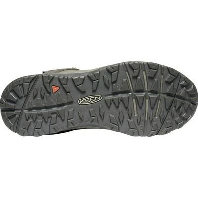 Schuhe Keen HIGHLAND Sneaker Mitte M-Sonnenuntergang weizen/Silber birke, Keen