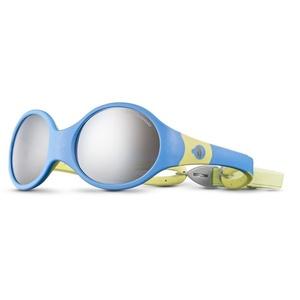 Sonnen Brille Julbo LOOP L SP4 BABY blue cyan / gelb green, Julbo