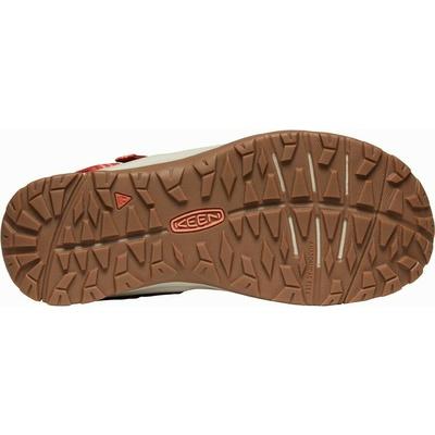 Sandalen Keen TERRADORA II Offene Zehe sandale Frauen dunkel rot/koralle, Keen