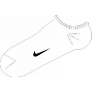 Socken Nike Ankle Femme Pink SX1430-152, Nike