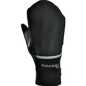 Unisex Handschuhe Silvini Isonzo UA905 schwarz/rot, Silvini